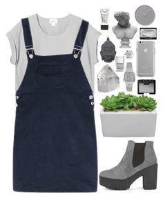 """""""FOOLS"""" by w-onderwalls ❤ liked on Polyvore featuring Monki, Three Hands, Casio, NARS Cosmetics, Case-Mate, Nails Inc., Visionnaire, Lemnos and Stila"""