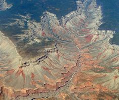 Grand Canyon from the air (Kozlowski)