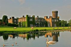 Swinton Park Hotel, Ripon, North Yorkshire.  I get to stay here for a night!