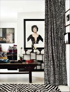 The Decorista-Domestic Bliss: office space of the day...DVF bombshell