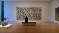 Installation view of Jackson Pollock's One: Number 31, 1950. The Museum of Modern Art, New York