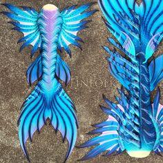 Custom Silicone Mermaid Tail