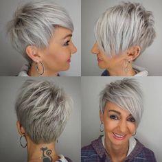 I like this colour and haircut. Precise job! 👍🏼 @emilyandersonstyling #kratkovlasky #shorthair #hairmakeover #kratkevlasy #shorthair…