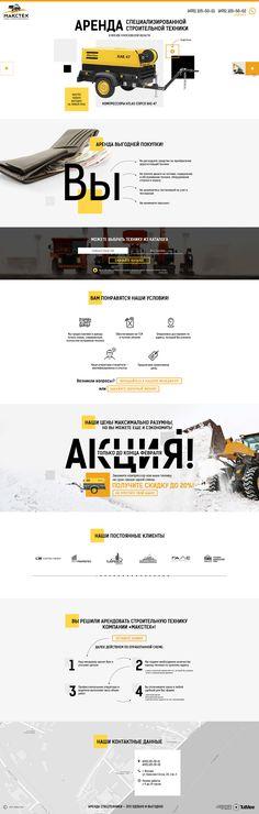 Landing page Maxtech / landingpage / landing / design/ webdesign