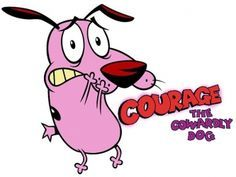 Courage The Cowardly Dog Scared Face