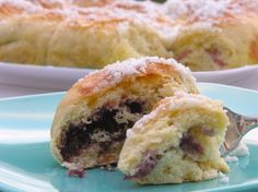 BUCHTY~This wonderful jam-filled bread is a traditional Czech/ Slovak recipe.