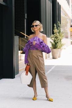 New York Fashion Week весна лето 2018   Street Style
