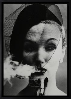 Smoke and Veil, Paris  William Klein