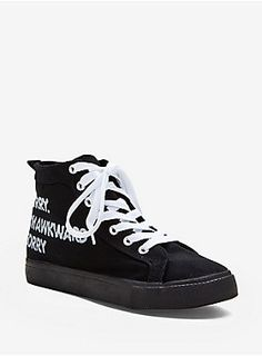 Awkwardly Awesome    Sorry I m Awkward Hi Top Sneakers 0f76b4894