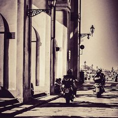 Motorbikes in Florence