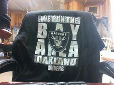 Oakland Raiders Season Greetings 2X Large #AlstyleApparel #GraphicTee