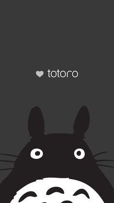 Totoro iPhone 5 background Más