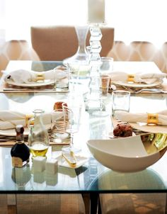 Set the Table: Geometric Accents