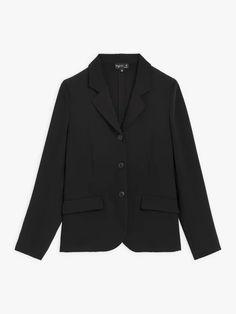 veste tailleur noire | agnès b. Blazer, Jackets, Collection, Fashion, Outfit, Black People, Down Jackets, Moda, Fashion Styles