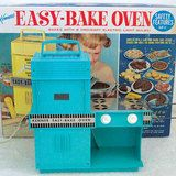 What little girl of the 70's didn't have an Easy Bake Oven?