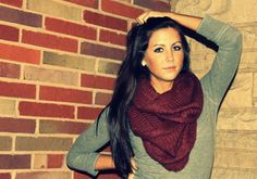 scarf fall photography