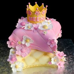 Princess Pillows Cake