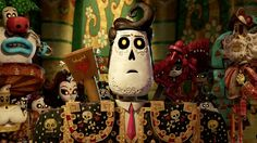 promo for animated movie about day of the dead...beautiful!