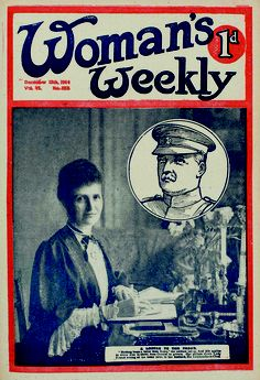 Woman's Weekly magazine from 12 December 1914 - writing letters to the troops