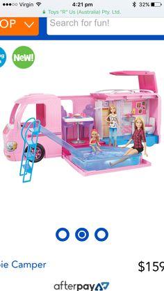 Black friday barbie camper van