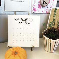 Made it through the first week of October!  #feelinglikefall #desktop #october #karenadamscalendar