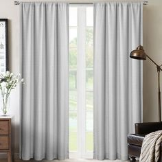 Bungalow Rose This Chevron Sheer Rod Pocket Single Curtain Panel offers premium curtain that is suitable for all window types. Curtain Color: Linen, Size per Panel: W x L Yellow Curtains, Colorful Curtains, Grommet Curtains, Drapes Curtains, Curtains Living, Window Types, Rod Pocket, Curtain Rods, Decorative Pillows