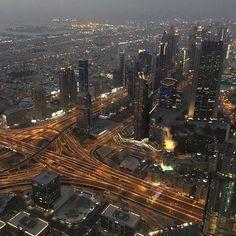 Top of Burj Khalifa, Dubai  June 2016