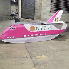 AKA 'Ivy One' plane #AKABoule2014#followprettypearlsinc AKA 1908