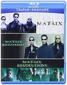 The Matrix Triple Feature (The Matrix / The Matrix Reloaded / The Matrix Revolutions) [Blu-ray]