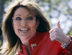 Sarah Palin thumbs up! Long after Julianne and Tina fade away, Sarah will still be standing! Go Sarah!