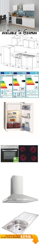 B004GDML0O  Glas Hängeschrank Weiß 100 cm - Witus Glas - hochschrank 30 cm breit küche