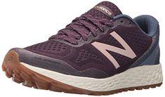 89fc3125f4bf New Balance Womens GOBIV2 Running Shoe AubergineVintage Indigo 10 B US --  Click for Special