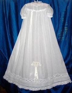 Antique+Irish+Christening+Gowns | Victorian Irish Crochet Laces Christening Gown - WHITNEY SAUCERBOAT ...
