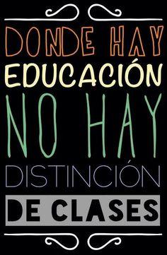 Donde hay educación no hay distinción de clases... Christian Diaz by. Belleza Capilar  www.bellezacapilar.com.ar