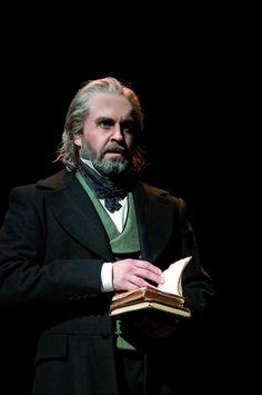 Alfie Boe (Jean Valjean) - Photo by Michael Le Poer Trench #theatre #lesmis #musicals www.lesmis.com