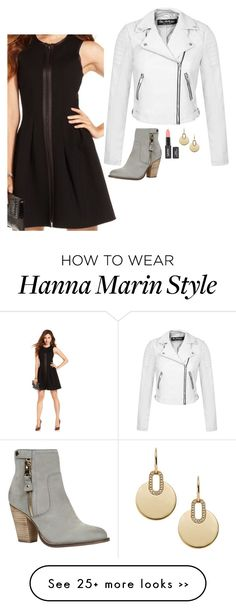 """Hanna Marin Inspired Outfit"" by daniellakresovic on Polyvore"