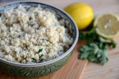 Květáková rýže Snack Recipes, Snacks, Grains, Low Carb, Rice, Keto, Food, Snack Mix Recipes, Appetizer Recipes