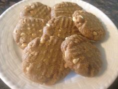 The BEST Flourless PEANUT BUTTER COOKIES * naturally GLUTEN FREE ~ can be with sugar or sugar-free * SOFT and puffy * smooth or crunchy peanut butter