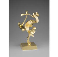 #gold #goldleaf #gilding #art #artist #billbarrett #sculpture Bill Barrett JINNI, 1974-1979 Gold leaf over cast aluminum 18 1/2 × 10 × 8 in 47 × 25.4 × 20.3 cm