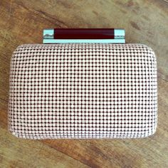 DVF Tonda Mesh Clutch GORGEOUS, DVF Tonda Mesh Clutch! Worn only a couple of times so it's in great condition. Minor scratches on the silver hardware. I lost the metal strap so that is not included. Retails for $468!!!  Sold out online. No trades. Diane von Furstenberg Bags Clutches & Wristlets