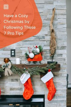 Christmas is right around the corner! So let's help you get your home ready this holiday season with our 7 easy home improvement tips and Christmas decor ideas. They'll make your house feel cozier and ready for the Winter season.
