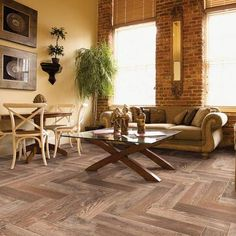 American Naturals In Raw Hide Wood Look Tile From Mediterranea
