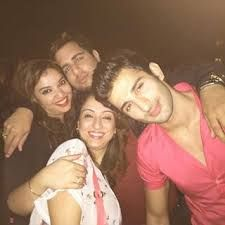 Image result for sidhant gupta with mom pics