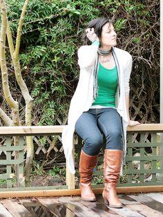 Nina Proudman (Offspring) style on a budget  www.somewherearoundhere.com.au