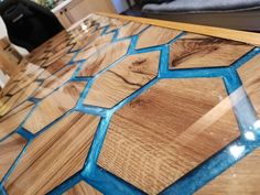 Selfmade table with epoxide resin – Wohnungsgestaltung – Home Epoxy