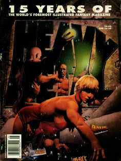 Heavy Metal - Vol. 6 No. 4 - 15 Years Of - 1992 - Corben