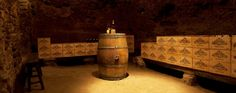 This cellar is an old cellar used by the Popes at the time they were sovereign in Avignon