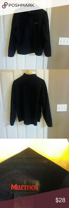 Marmot 1/2 Zip Men, Fleece Black Pullover Size XL Marmot 1/2 Zip Men, Fleece Black Pullover Size XL In Excellent condition. Marmot Jackets & Coats