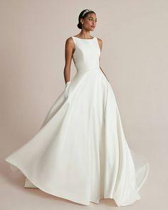 33 Cute Modest Wedding Dresses To Inspire ❤ #weddingforward #wedding #bride #weddingoutfit #bridaloutfit #weddinggown