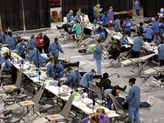 Volunteering with the MRC: Nearly 300 MRC volunteers in King County/Seattle, WA, participated in a four-day volunteer-driven free medical, dental, and vision clinic serving more than 4,000 patients.